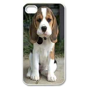 For Apple Iphone 5C Case Cover Lovely Beagle Puppy For Men, For Apple Iphone 5C Case Cover For Girls For Men [White]
