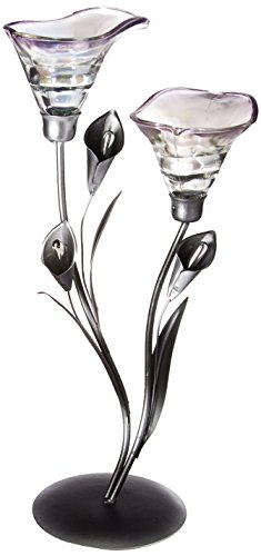 Calla lily candleholder