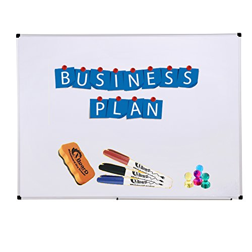 xboard-double-sided-36-x-24-inch-magnetic-dry-erase-board-set-wall-mounted-3-x-2-reversible-whiteboa