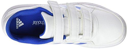 adidas Altasport Cf K, Zapatillas de Deporte para Niños Blanco (Ftwbla/Azul/Ftwbla 000)