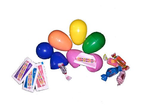 Plastic Easter Eggs with 2 Candy (250 Count)