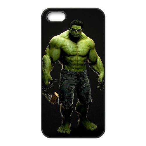 Hulk 005 coque iPhone 4 4S cellulaire cas coque de téléphone cas téléphone cellulaire noir couvercle EEEXLKNBC25849