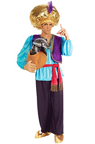 [Snake Charmer Costume - Standard - Chest Size 38-42] (Arabian Costumes For Men)
