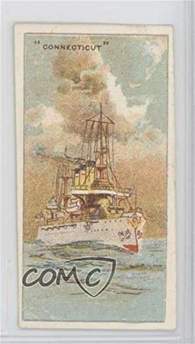 (Connecticut (Trading Card) 1920s Wills U. S. Warships - Tobacco [Base] - Capstan Back #CONN)