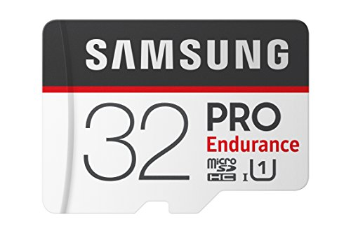 Samsung PRO Endurance 32GB Micro SDHC Card with Adapter - 100MB/s U1 (Microsdhc Flash Card Model)