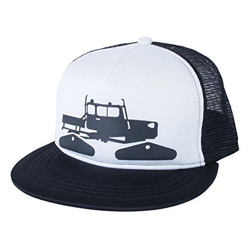 36504c06 Amazon.com: Spacecraft Snow Cat Trucker Hat, White, One Size: Clothing