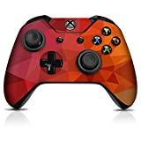 Controller Gear Blood Orange Poly Xbox One Controller Skin - Officially Licensed by Xbox
