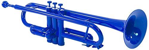 Tromba TP1-1BLUE Plastic Bb Trumpet - Blue