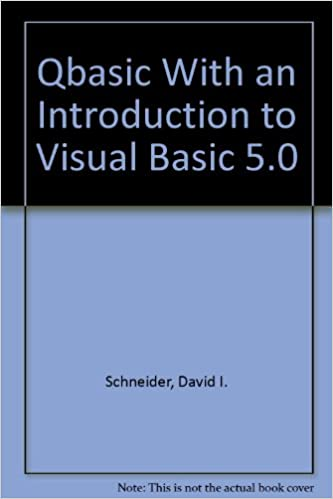 Qbasic With an Introduction to Visual Basic 5 0: Amazon in