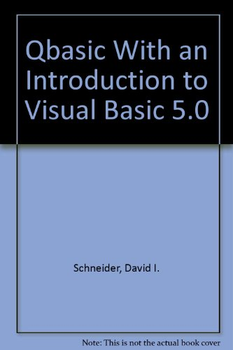 Link on Qbasic With an Introduction to Visual Basic 5 0