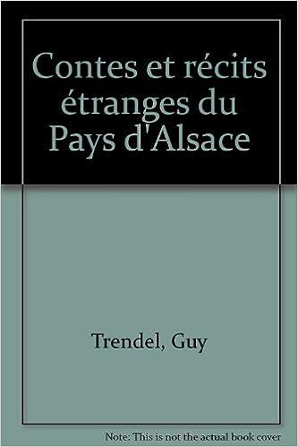 Téléchargement Contes et récits étranges du pays d'Alsace pdf epub