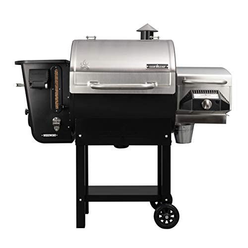 Find Bargain Camp Chef 24 in. WiFi Woodwind Pellet Grill & Smoker with Sear Box (PGSEAR) - WiFi & Bl...