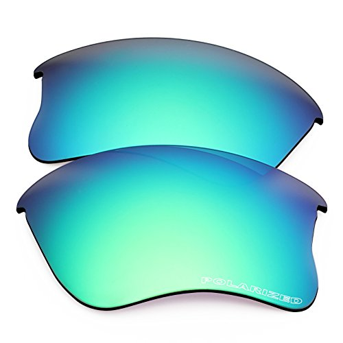 New 1.8mm Thick UV400 Replacement Lenses for Oakley Flak Jacket XLJ - (Flak Jacket Xlj Replacement Lens)