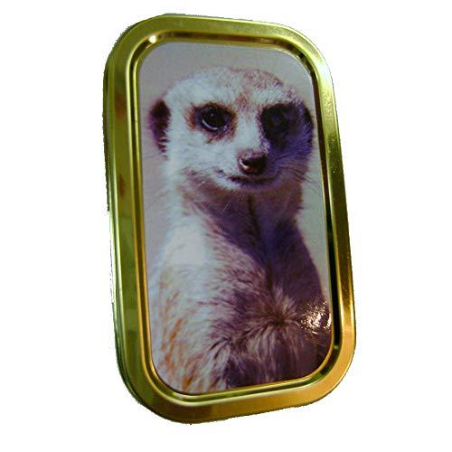 2oz meerkat design tobacco tin