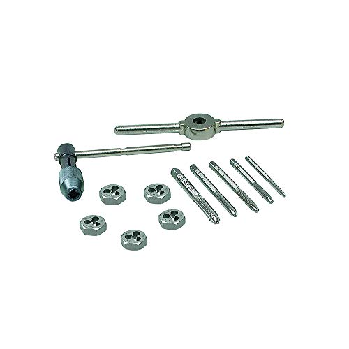 Nc Fractional Thread Ground Taps - IRWIN Tools Machine Screw with Fractional Tap and Die Set, 12-Piece (24605)