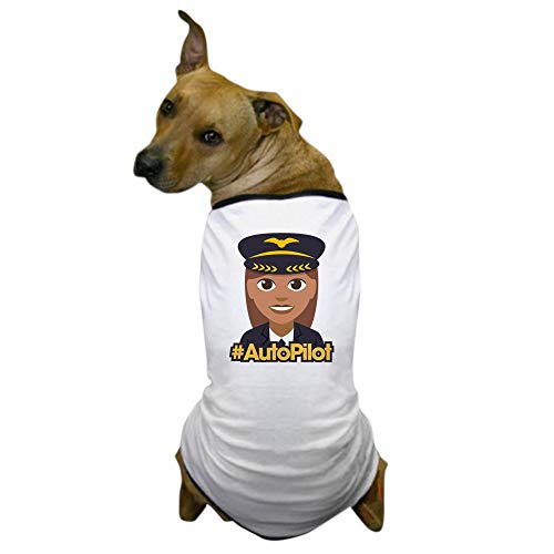 CafePress Hashtag Autopilot Dog T Shirt Dog T-Shirt, Pet Clothing, Funny Dog Costume