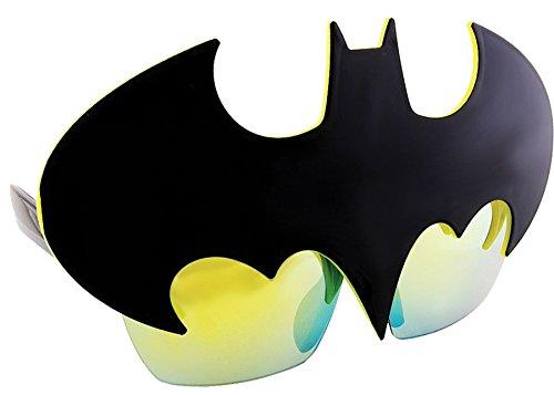 Sunstaches Officially Licensed Batman Logo -