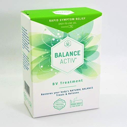 Bacterial Vaginosis Treatment - BV Balance Activ Gel - 7 Tube Box