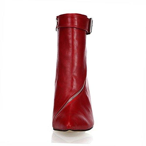 Di Nuovo Dell'unità Vino Tacchi Signore Cena Vino Caricamento Del Elaborazione Selvatici Sottolineato Rosso Rosso Sexy Alti Metà Sistema Avvio WqXwcHtYn