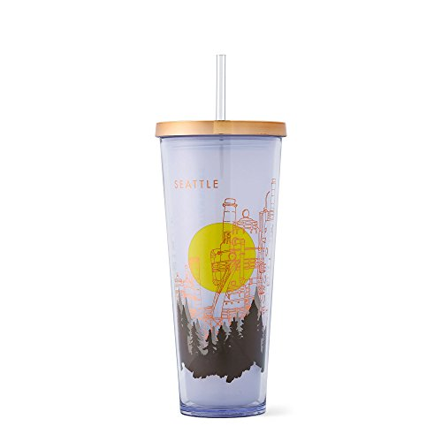 Starbucks Coffee Seattle Gas Works Park Cold Cup, 24 fl oz