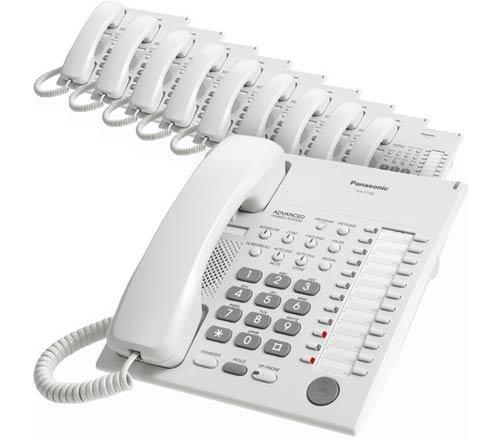 Panasonic KX-T7720 Corded Telephone White (10 Pack)