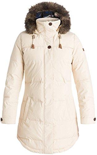 Roxy SNOW Junior's Ellie Insulated Jacket, Angora, XS