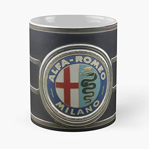 Milano Cocoa - Alfa Romeo Milano Giulia - Morning Coffee Mug Ceramic Best Gift