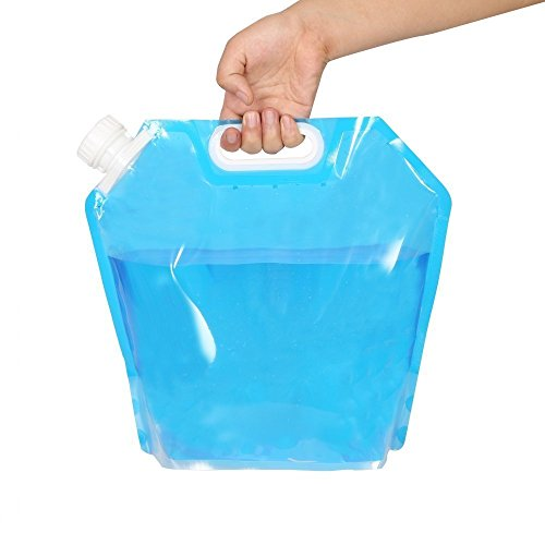 [Ultimately Convenient] Cojoy 10 Litres Collapsible Water Tank Water Container Water Carrier- Emergency Water Bag, Food ()