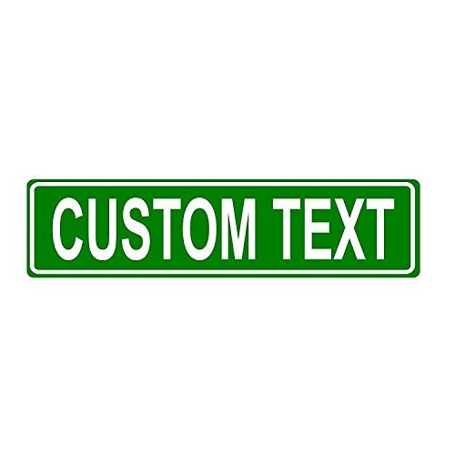 (Custom Green 6x24 Aluminum Sign)