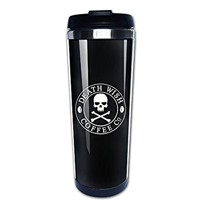 DEATH WISH COFFEE LOGO Stainless Steel Coffee Cup