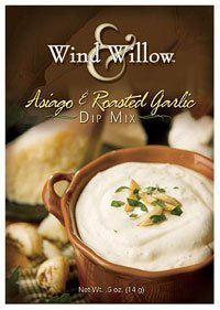 Wind & Willow Asiago & Roasted Garlic Dip Mix by Wind & Willow -