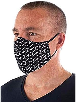 Maxpex 1PCS 𝐌𝐚𝐬𝐜𝐚𝐫𝐢𝐥𝐥𝐚 de Algodón Reutilizable Lavable - Reutilizable Algodón Cómodo Transpirable Moda Exterior Protecciones Faciales Hombre y Mujer: Amazon.es: Deportes y aire libre