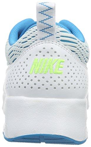 Nike Damen Air Max Thea Laufschuhe Weiß / Blaue Lagune / Geistergrün