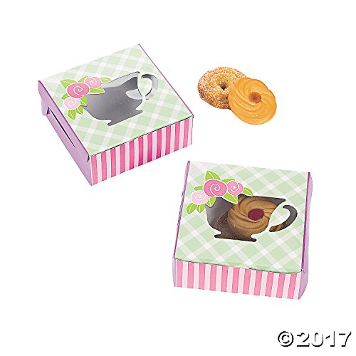 Fun Express 12 Tea Party Cookie Boxes