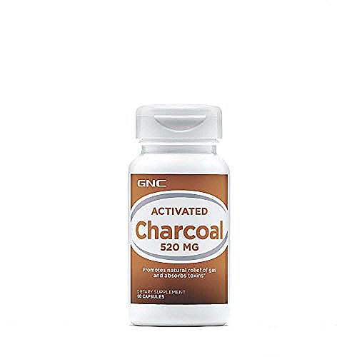 GNC Activated Charcoal 520mg