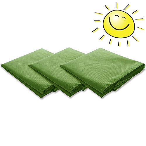 loofeng 3Pcs Plant Covers Freeze Protection Winter Plant Cover Frost Cloth for Trees
