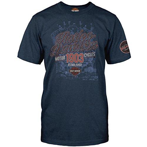 Harley-Davidson Military - Mens Polyblend Graphic T-Shirt - Osan Air Base | Speak Easy