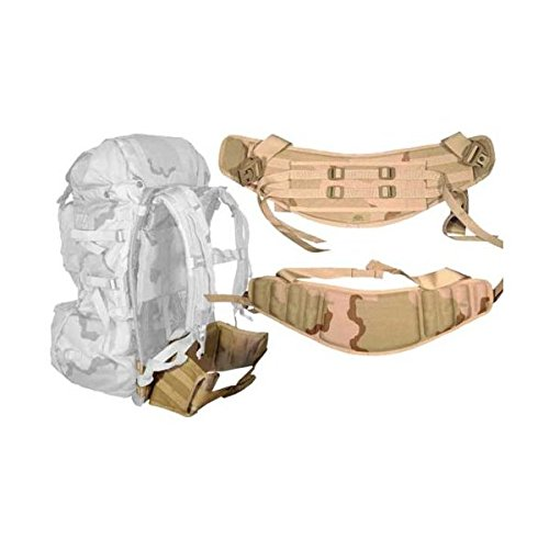 Us Army Molle Desert Camo Molded Kidney Waist Belt add to ALICE pack improve comfort