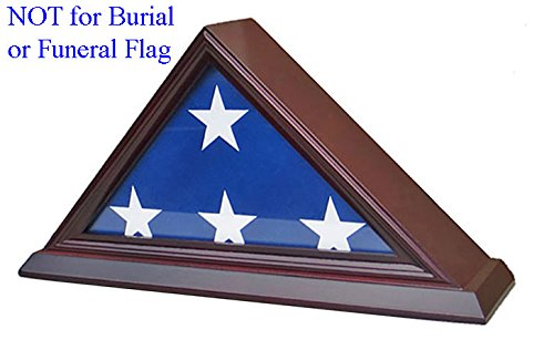 3' X 5' American Flag Display Case Stand Shadow Box , FC35-C