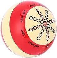 Billiard Pool Ball, Resin Wear Resistant 52MM Billiard Training Cue Pool Ball Snooker Practice Assist Accessor