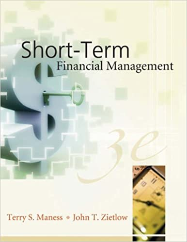 Short term financial management terry s maness john t zietlow short term financial management terry s maness john t zietlow 9780324202939 amazon books fandeluxe Image collections