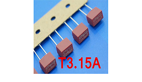 Feinsicherungen 0034.3105 Tube t63mal250vac 5x20mm #705710 1x 10 il Pack