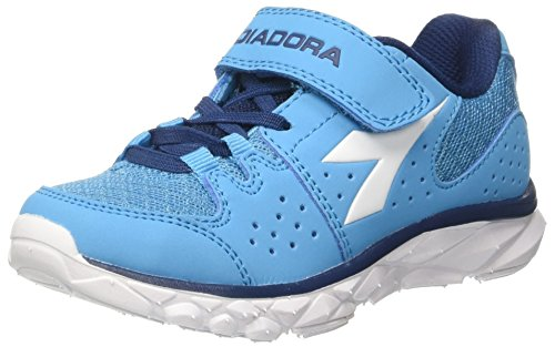 Hombre Correr bianco Diadora Azul Blu Fluo Para Diadora bianco Unisex Jr Zapatos 7 6cf49f