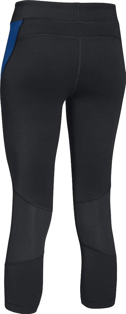 Under Armour Ua Hg blk//cba//MSV 005 Womens Heat Gear Crop Pants-Black X-Small