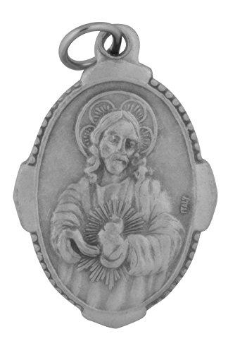 Venerare Traditional Catholic Saint Medal (Sacred Heart of Jesus) ()