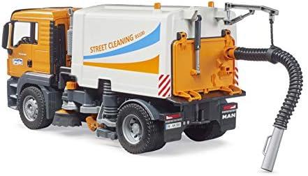 bruder Camion Man TGS per Pulizia Stradale-MG-BRU-03780, Colore 3, 03780