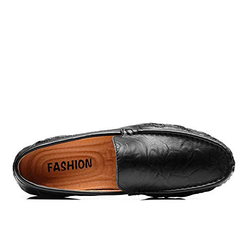 cm comfort da dimensioni gommino 24 Scarpe basse cm design Morbido da Mocassino 27 e donna 5 Scarpe Mocassino Nero pelle in marrone uomo nero unico Zgsjbmh d'affari leggero sintetica 0 axZBHxq