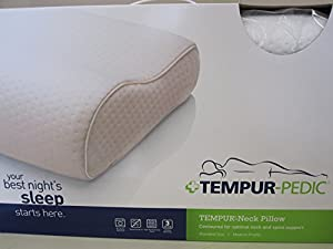 tempurpedic standard medium swedish neck pillow