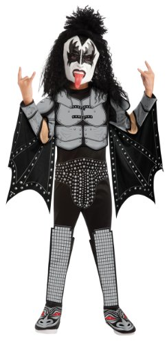 Child Costume Kiss (Kiss Deluxe The Demon Costume - One Color -)