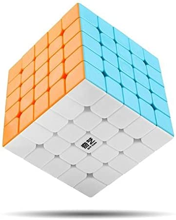 Cubelelo QiYi QiZheng S 5x5 Stickerless Puzzle Rubik Rubix Rubic Speed Cube